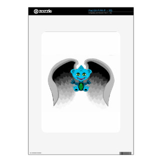 Little Dragon with Wings Skin For iPad