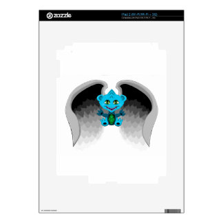 Little Dragon with Wings Skin For The iPad 2