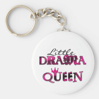 Little Drama Queen T-shirts and Gifts Key Chains