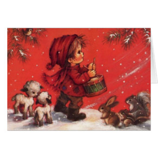 Little Drummer boy Greeting Cards