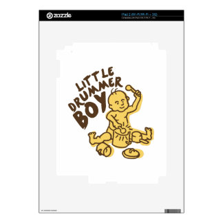 Little Drummer Boy Decals For The iPad 2