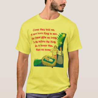 Little Drummer Boy Lyrics on T shirts and Gifts