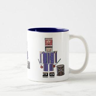 LIttle Drummer Boy Two-Tone Coffee Mug