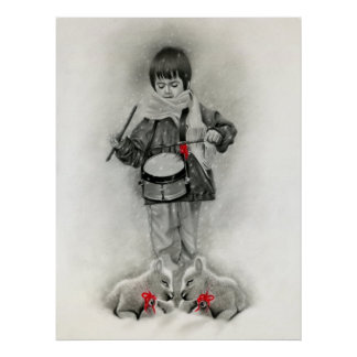 Little Drummer Boy Print/Poster Poster