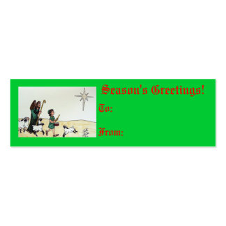 Little Drummer Boy Tag Business Card Template
