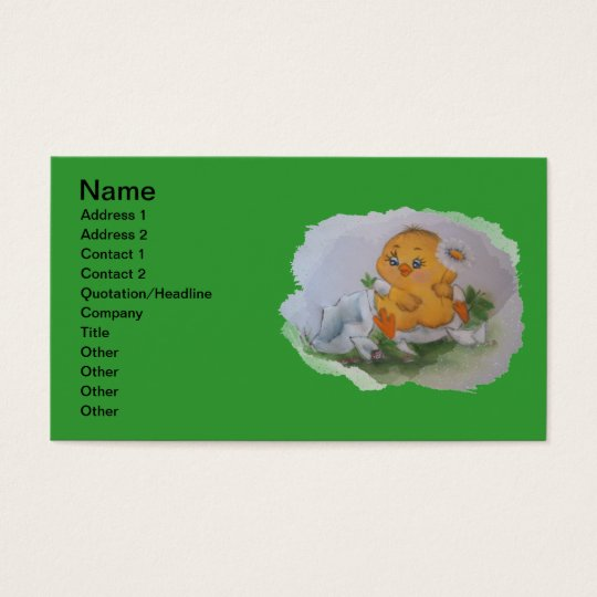 Little duck business card