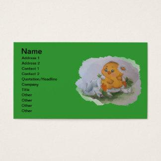 Little duck business card