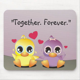 Little Duckies - Together Forever Mouse Pad
