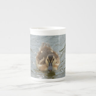 little duckling, front tea cup