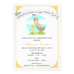 Little Duckling | Gender Reveal Baby Shower Personalized Invites