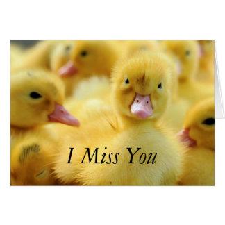 Little Ducks Card