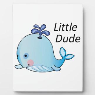 Little Dude Plaque