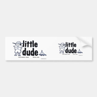 Little Dude  Trailer Co. sticker