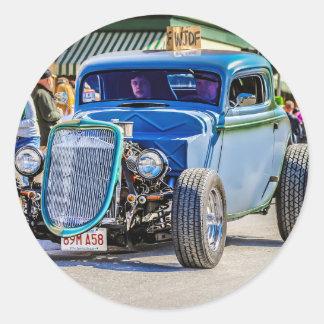 Little Duece Coupe Classic Round Sticker