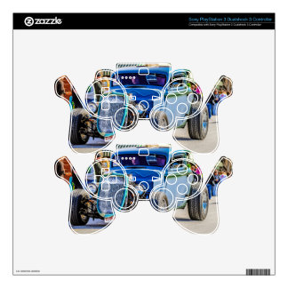 Little Duece Coupe PS3 Controller Decal
