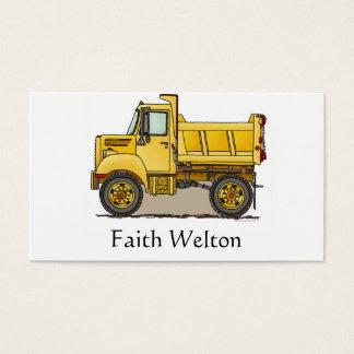 Little Dump Truck Business Card