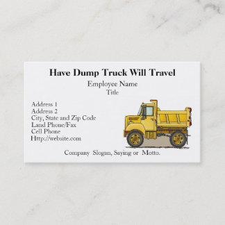 Little Dump Truck Business Cards
