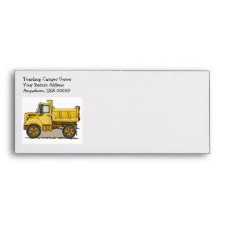Little Dump Truck Envelopes