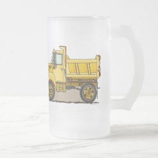 Little Dump Truck Glass Mug