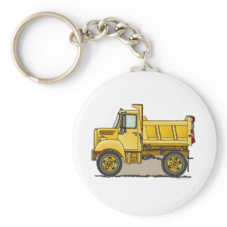 Little Dump Truck Key Chain