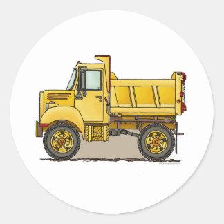 Little Dump Truck Kids Sticker