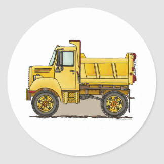Little Dump Truck Kids Sticker