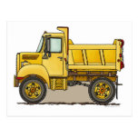 Little Dump Truck Post Card