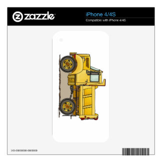 Little Dump Truck Skins For The iPhone 4