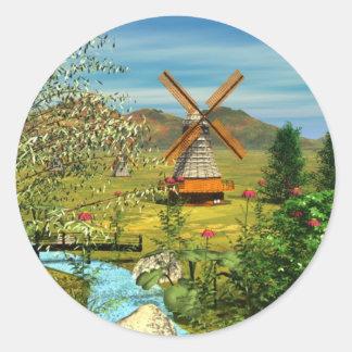 Little Dutch Wunder Bag Classic Round Sticker