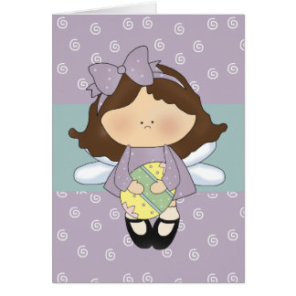 Little Easter Angel D3 Easter Greeting Card