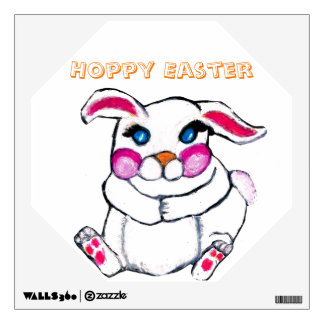LITTLE EASTER BUNNY wall decal