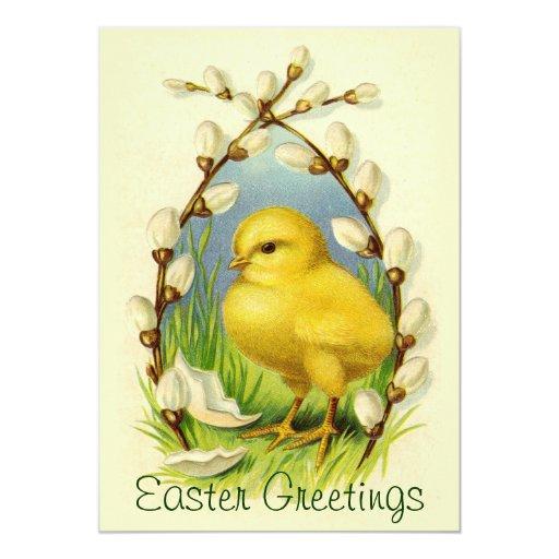 Little Easter Chick Invitation
