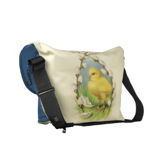 Little Easter Chick Messenger Bag