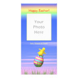 Little Easter Chicken Wings Personalized Photo Card