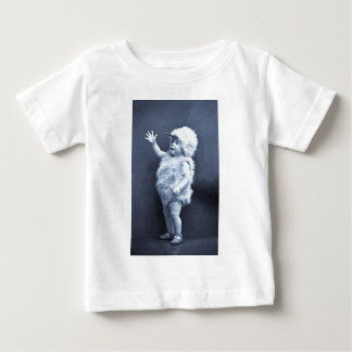 Little Easter Duck Girl Vintage Baby T-Shirt