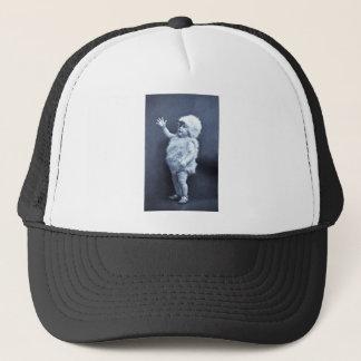 Little Easter Duck Girl Vintage Trucker Hat