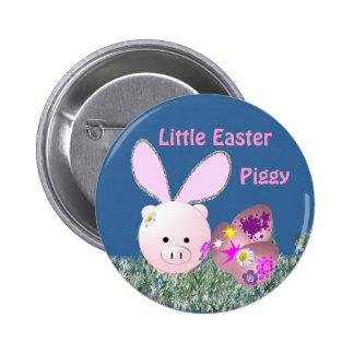 Little Easter Piggy Pinback Button