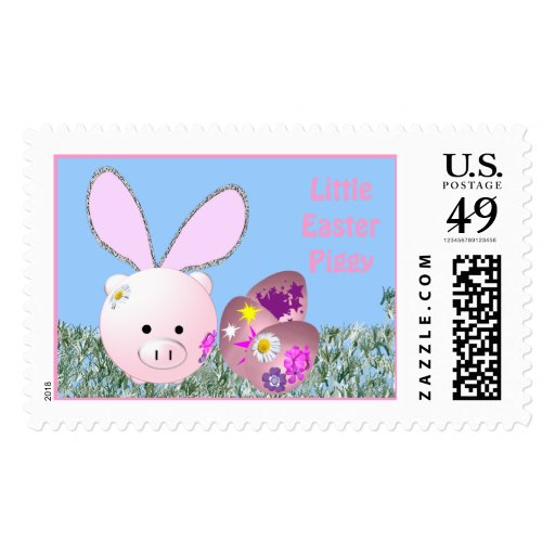 Little Easter Piggy Stamp