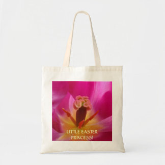 Little Easter Princess! tote bag gifts Pink Tulip