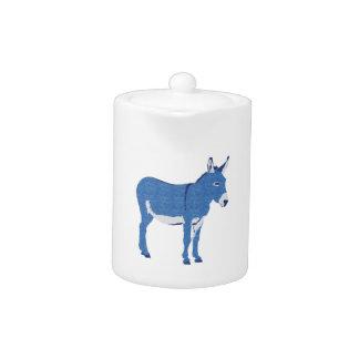 Little Eddie Donkey's Not Really Blue Teapot