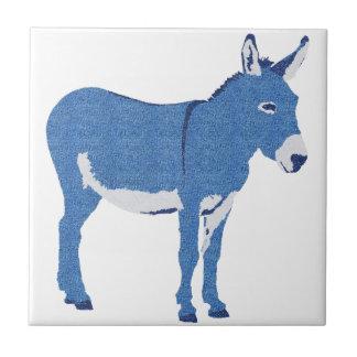 Little Eddie Donkey's Not Really Blue Tile