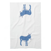 Little Eddie Donkey's Not Really Blue Towel