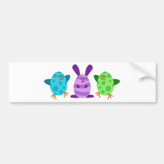 Little Egg Critters Bumper Sticker