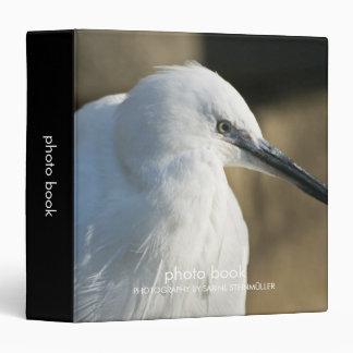 Little Egret Vinyl Binders