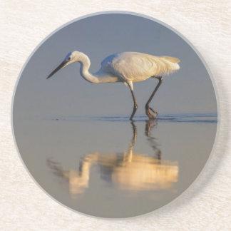 Little egret coaster
