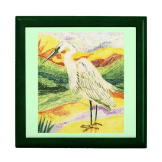 Little Egret Keepsake Boxes