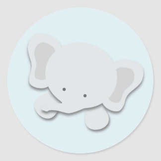 Little Elephant {Blue} | Stickers