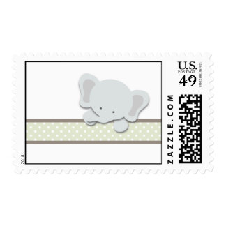 Little Elephant {Green} | Stamps
