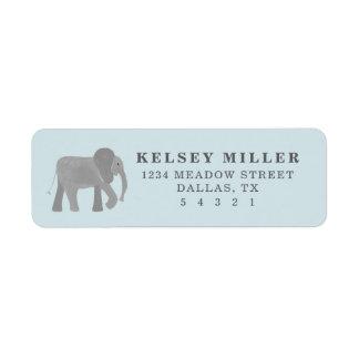 Little Elephant Label