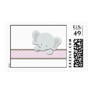 Little Elephant {Pink} | Stamps